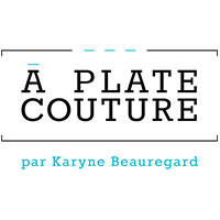 Logo À PLATE COUTURE