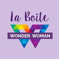 Logo La Boite Wonder Woman