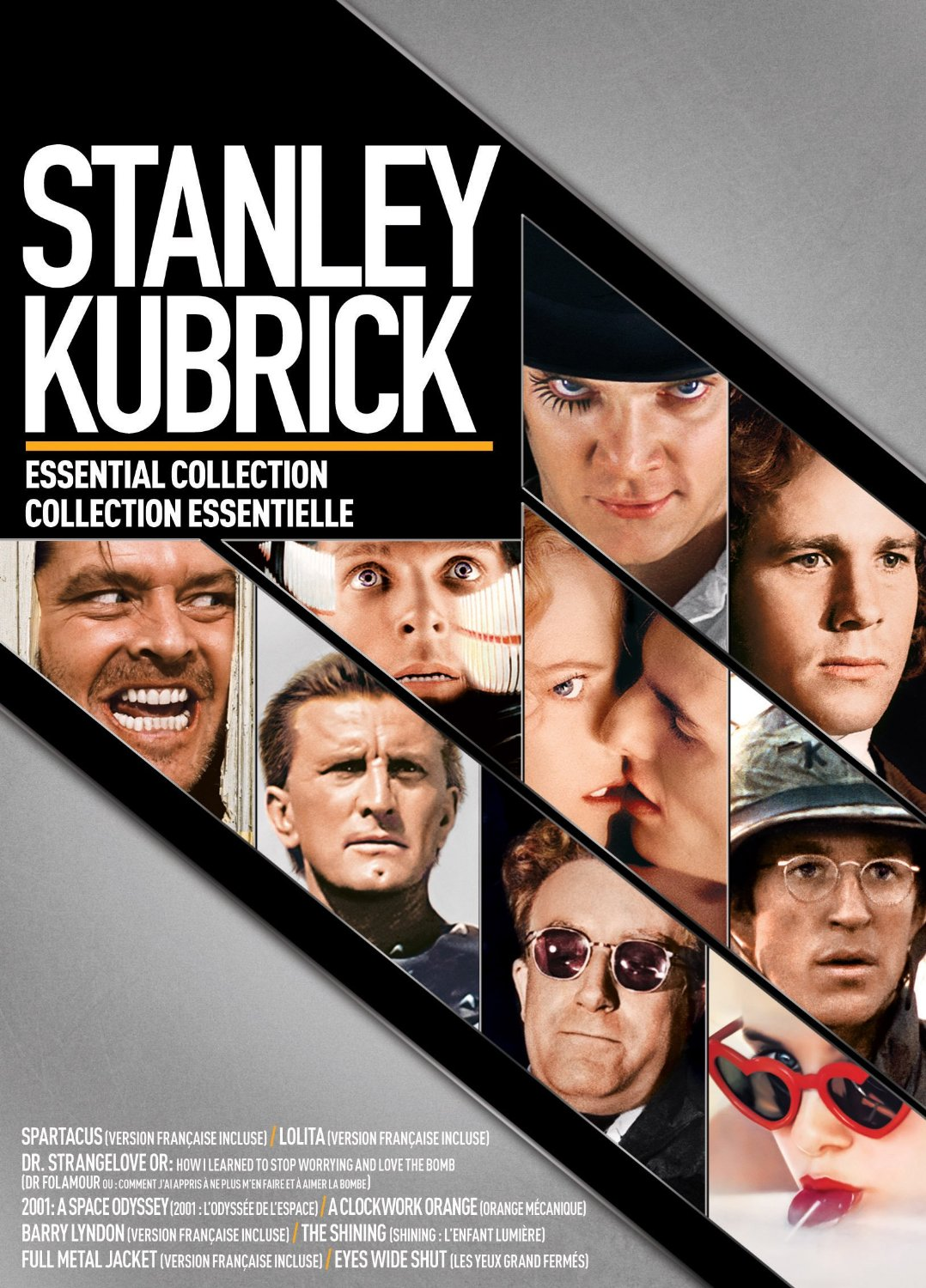 coffret dvd de stanley kubrick id e cadeau qu bec. Black Bedroom Furniture Sets. Home Design Ideas