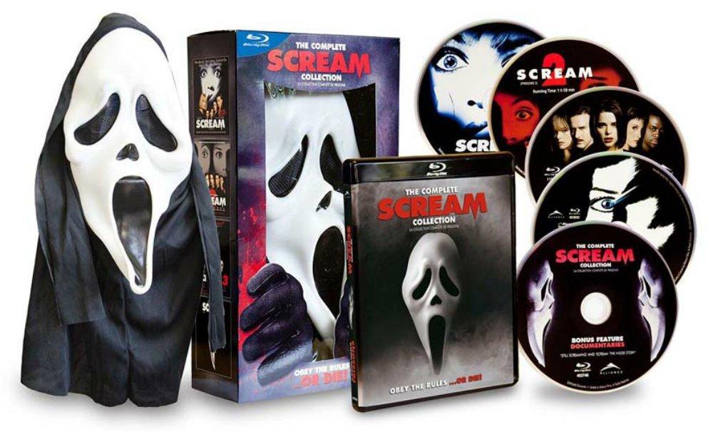 Collection complète de Scream + Masque