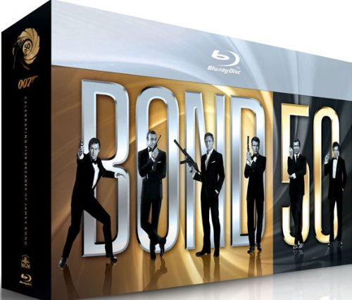 Coffret Blu-ray des 50 ans de James Bond