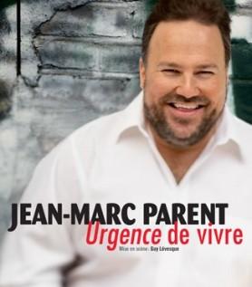 DVD du spectacle de Jean-Marc Parent : Urgence de vivre