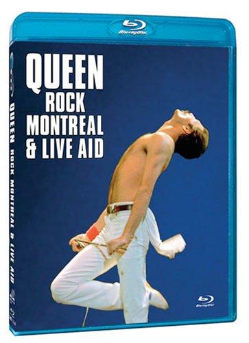 Blu-ray du Spectacle de Queen Live-Aid à Montréal!
