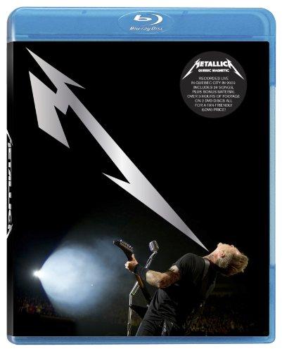 Blu-ray du spectacle de Metallica à Québec!