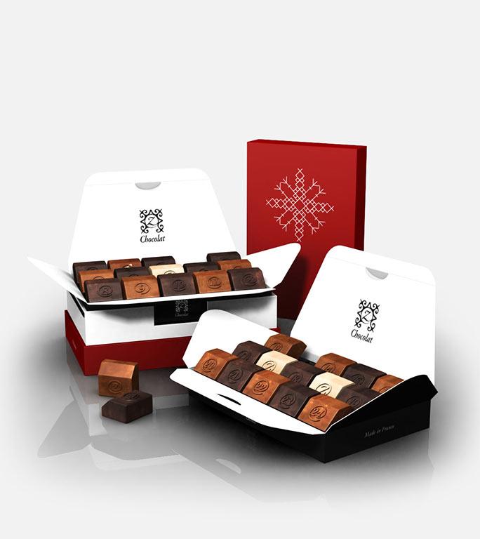 zChocolat: Boite de chocolat de luxe par internet