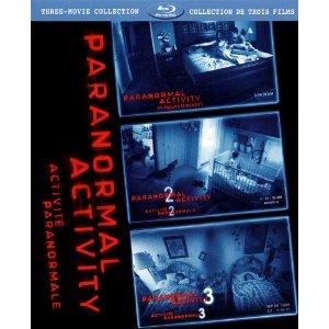 Activité paranormale 1, 2 et 3 (bilingue)
