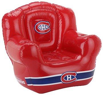 Chaise gonflable des Canadiens de Montréal