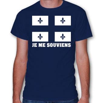 T-shirt «Je me souviens»