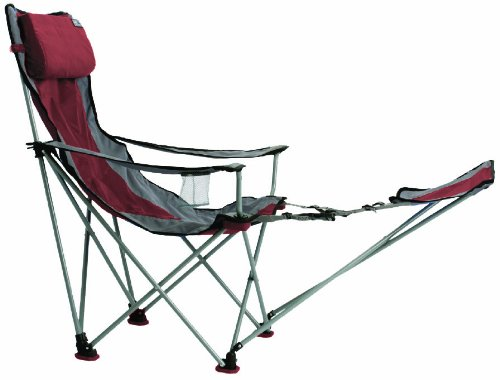 Chaise de camping deluxe