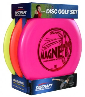 Ensemble de 3 frisbees