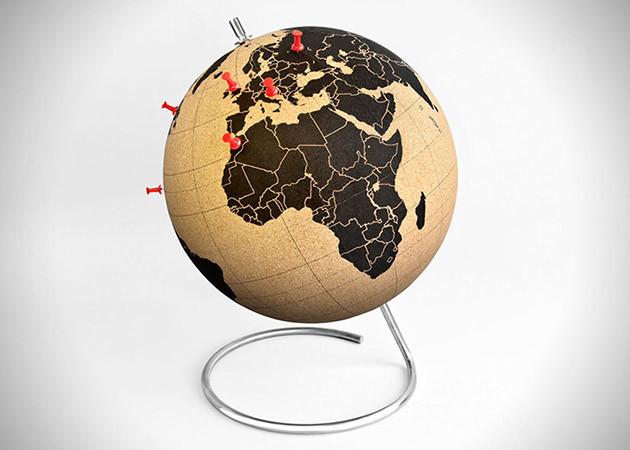 Cliquez ici pour acheter Globe du monde en liège