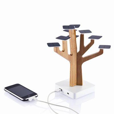 Arbre solaire techno