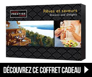 Coffrets Prestige - Rêves et saveurs