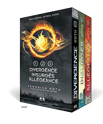 Divergence – Coffret intégral 3 tomes