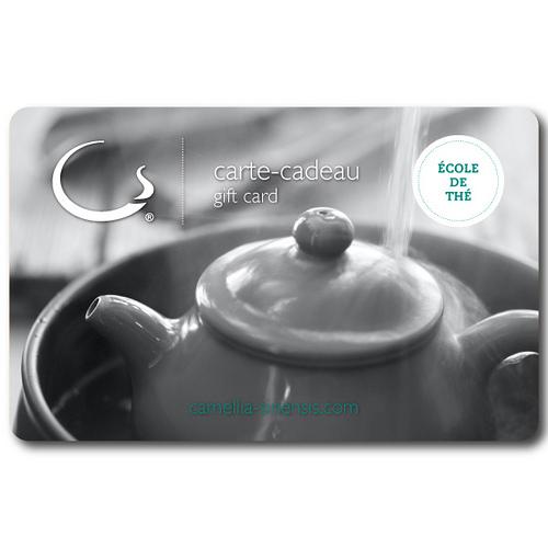 Carte-Cadeau – Cérémonie du thé