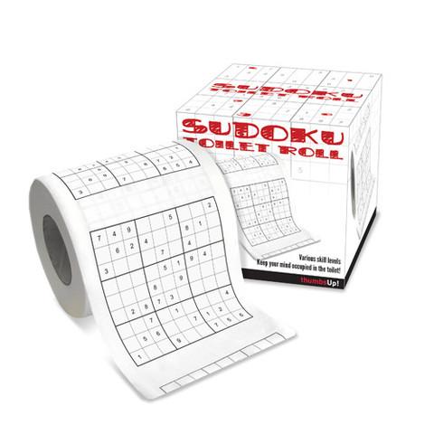 Papier de toilette Sudoku