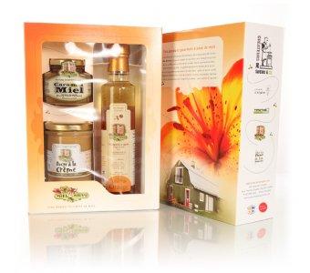 Panier cadeau : Miel Morand (3 produits)