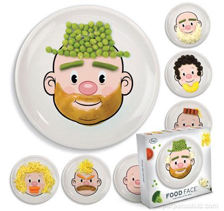 Assiette pour enfants Food Face