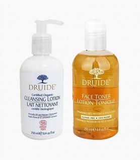 DRUIDE : Duo visage nettoyant et démaquillant
