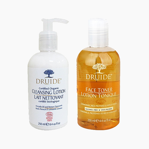 Cliquez ici pour acheter DRUIDE : Duo visage nettoyant et démaquillant