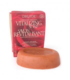Savon vitalisant au Ginseng et rose