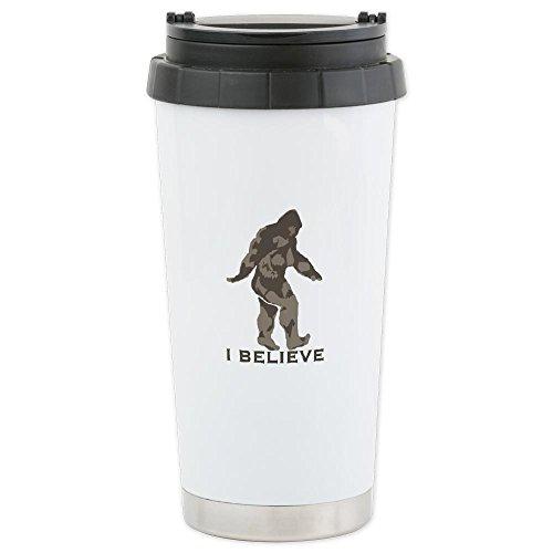 Mug de voyage «I Believe in Bigfoot»