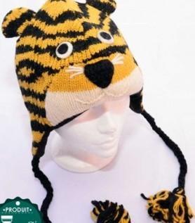 Tuque pour enfant : Tigre