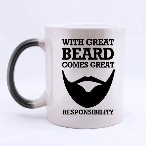 Mug magique pour les barbus