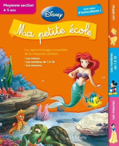 Ma petite école (livre Disney) – Moyenne section