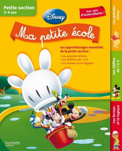 Ma petite école (livre Disney) – Petite section