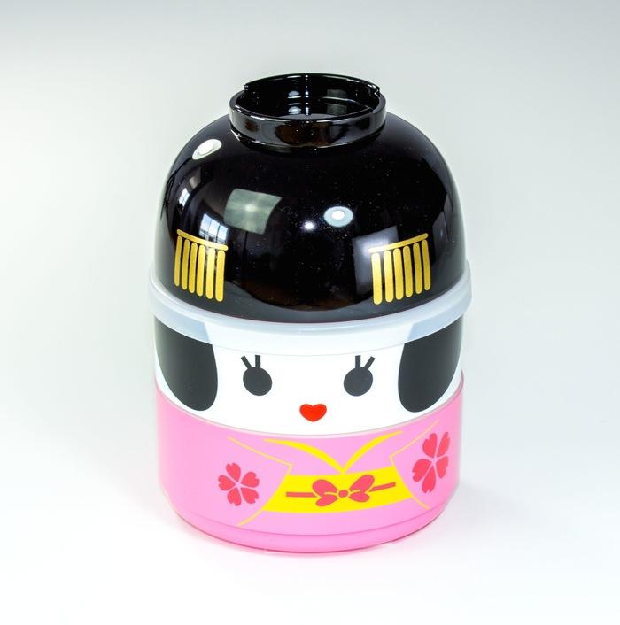 Boite à lunch Maiko Kokeshi, apprentie Geisha