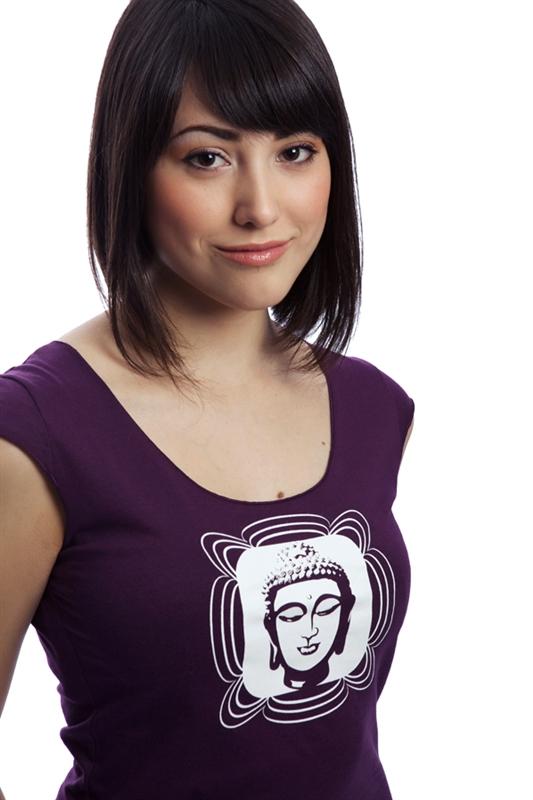 T-shirt buddha pour femme