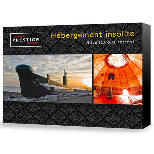 Coffrets Prestige : Hébergement insolite