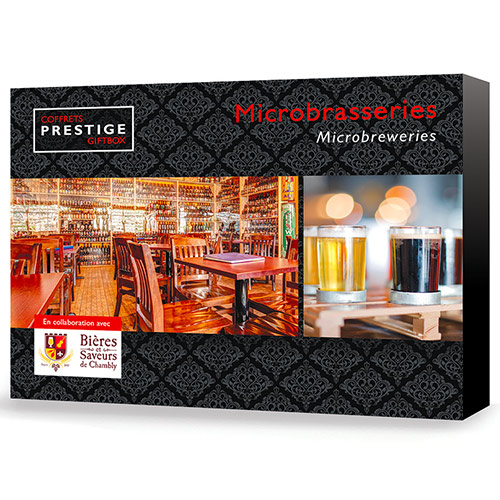 Idée Cadeau : Coffrets Prestige Microbrasseries