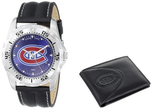 Montre et porte-feuille des Canadiens de Montréal