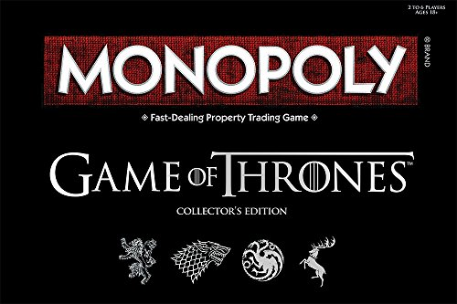 Jeu Monopoly version Game of Thrones