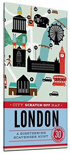 Carte à gratter – Londres