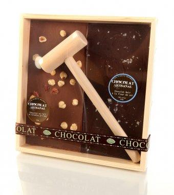 Chocolat à casser – 9 x 9