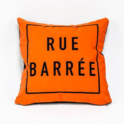 Coussin Rue Barrée