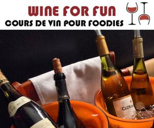 Cours de vins à offrir ou en groupe