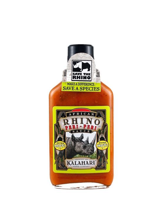 Sauce African Rhino Peri Peri (HOT)