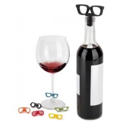Lunettes pour le vin!