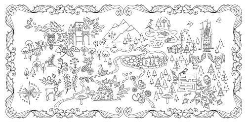 Coloriage Anti Stress Mode.Coloriage Anti Stress Foret Enchantee Idee Cadeau Quebec