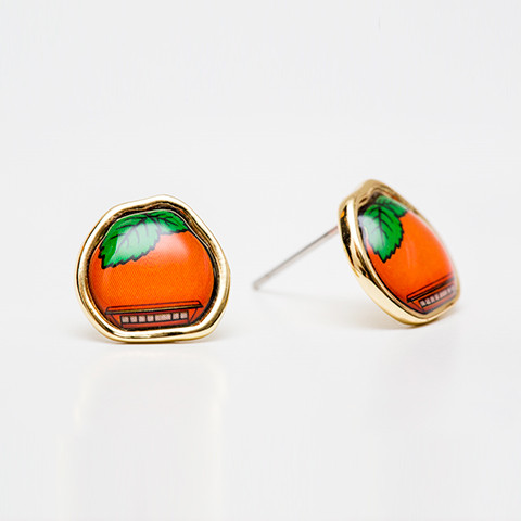Boucles d'oreilles Orange Julep