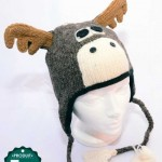 Tuque animal orignal