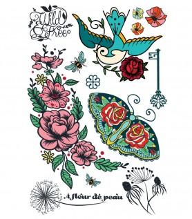 Tattoo temporaire À fleur de peau
