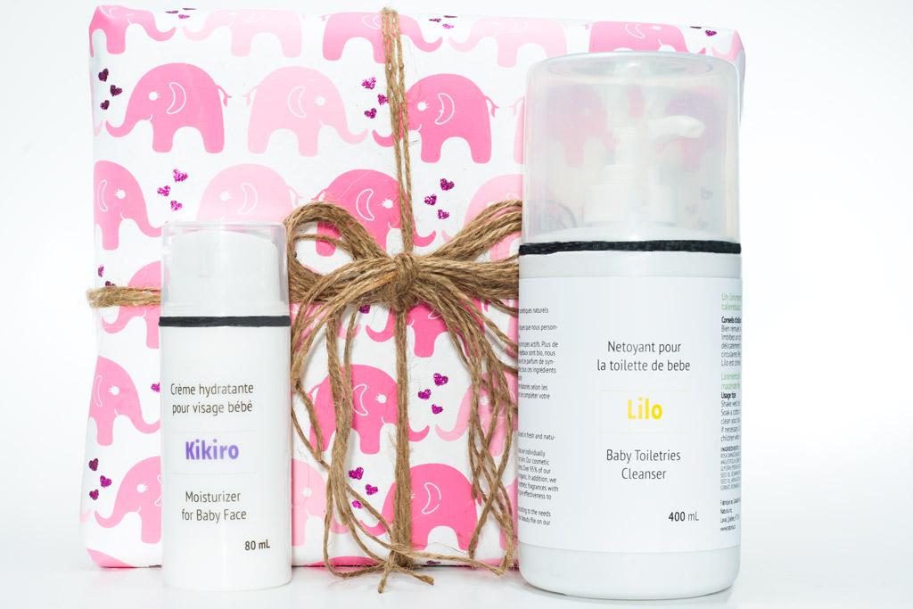 Produits pour la peau de bébé