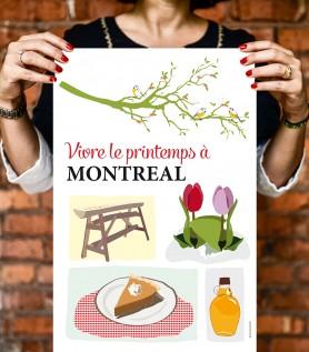 Le printemps à Montréal