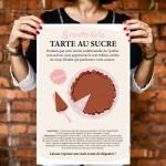Affiche - Tarte au sucre