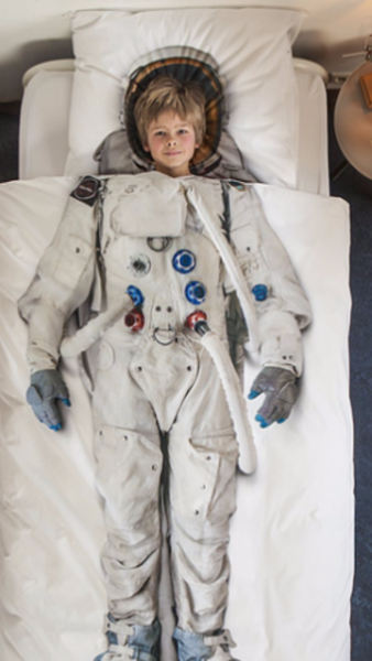 Cliquez ici pour acheter Housse de couette – Astronaute